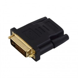 Conversor Adaptador DVI-I a HDMI 1080p PC Notebook Full HD