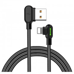 Cable Lightning Mcdodo Dark Gray para Iphone 1.2 metros