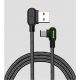 Cable Lightning Mcdodo Dark Gray para Iphone 1.2 metros