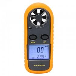 Anemómetro y Termómetro GM816 Medidor Velocidad del Viento