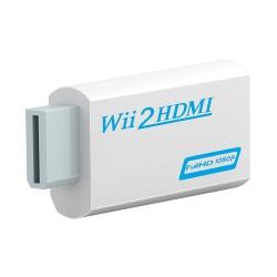 Conversor Adaptador Consola Nintendo WII A HDMI + Jack de 3.5mm