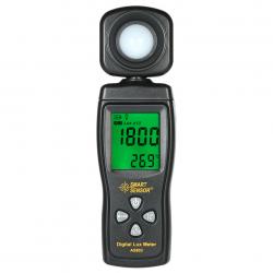 Luxómetro Smart Sensor AS803 Luz Fotómetro con Termómetro
