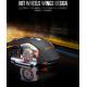 Mouse Óptico Gamer T-WOLF Q13 Inalámbrico Recargable Iluminado