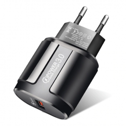 Cargador Rápido USB Quick Charge 3.0 Smartphones Tablets 18w