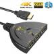 Switch HDMI 3x1 4k 3D 3 Entradas PS4 PS3 XBOX One PC