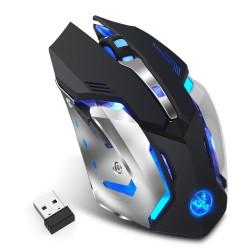 Mouse Óptico Gamer HXSJ M10 Inalámbrico Recargable