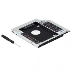 Caddy 9.5mm para Macbook Pro Sata Segundo Disco Duro HDD o SSD