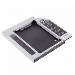 Caddy Universal 12.7 mm Sata Instala un Segundo Disco Duro en Notebook