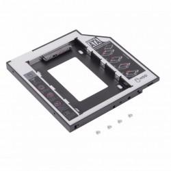 Caddy Universal de 9.5mm Sata Segundo Disco Duro en Notebook