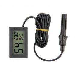 Termómetro e Higrómetro Digital Pantalla Lcd con Sonda