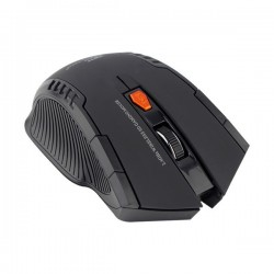 Mini Mouse Óptico Inalámbrico 2.4ghz 2400 DPI 6 botones Negro